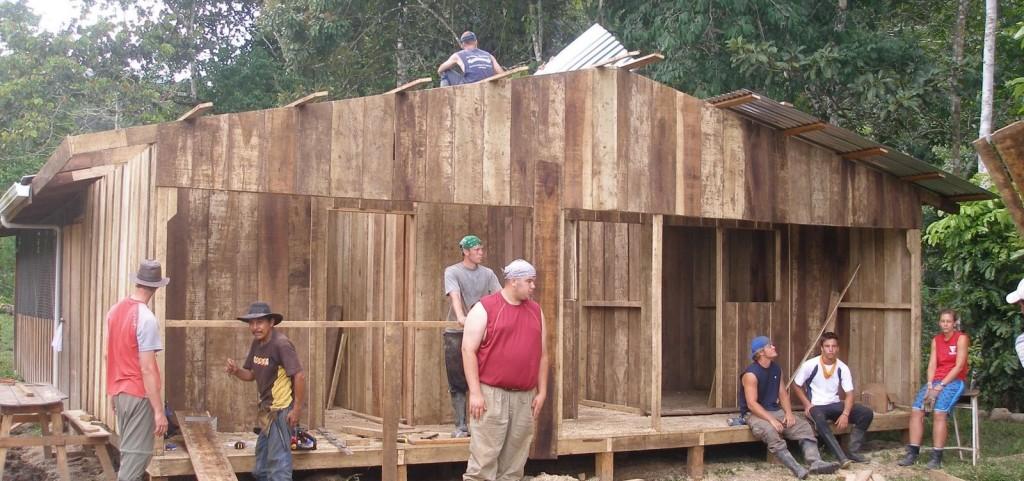 Construyendo cuartos para maestros